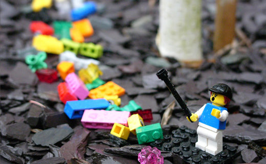 Plastic and Lego